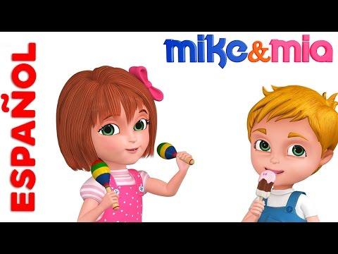Aprender Números | One Two  Buckle My Shoe | Rimas infantiles para niños | Mike y Mia