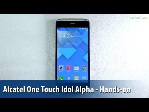Alcatel One Touch Idol Alpha im Hands-on - Lutz Herkners Video-Blog | deutsch / german