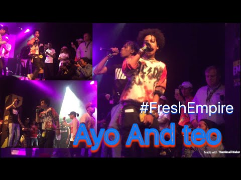 Ayo & teo Perform Better Off AloneAugust 18, LA @shmateo @ogleloo