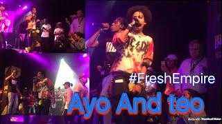 "Video Ayo & teo Perform ""Better Off Alone""|August 18, LA @shmateo_ @ogleloo download MP3, 3GP, MP4, WEBM, AVI, FLV Desember 2017"