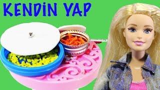 Barbie Oyuncak Bebekleri için Tencere ve Tava Yapımı | Kendin Yap | Nasıl Yapılır | EvcilikTV