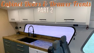 Cabinet Doors & Drawer Fronts: Part 2 - Ikea Hinges, Ikea Drawers, & Hardware