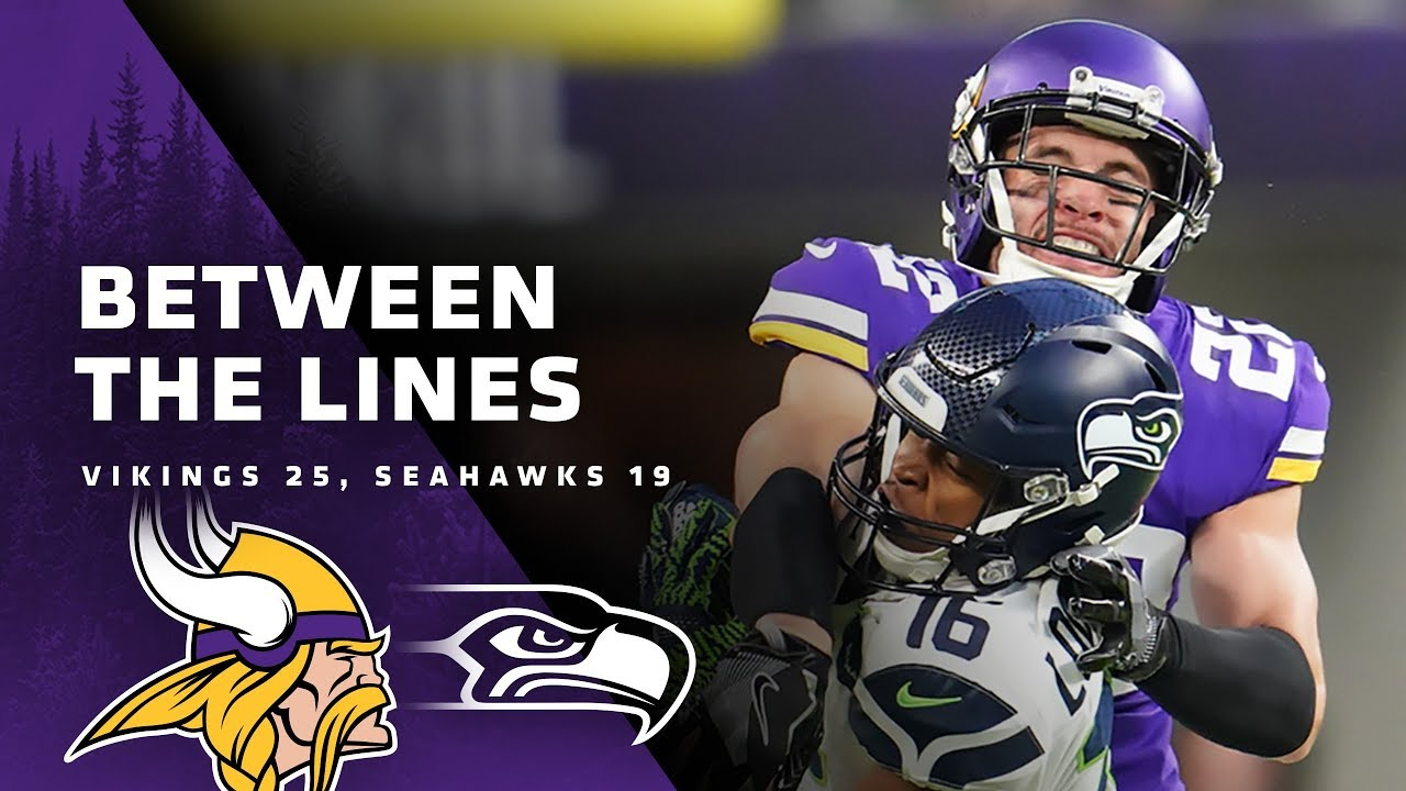 Between The Lines: Minnesota Vikings 25, Seattle Seahawks 19
