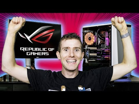 BUILD A NEW GAMING RIG WITH LINUS TECH TIPS AND ASUS ROG! (NA Only)