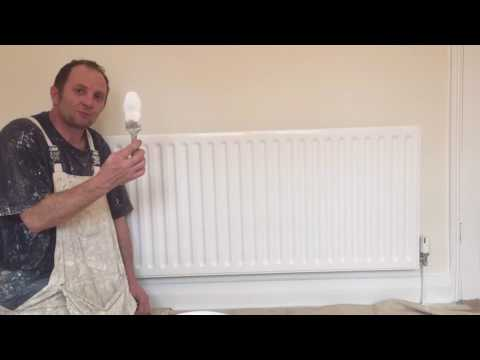 Painting & Decorating, How to.paint a radiator by brush