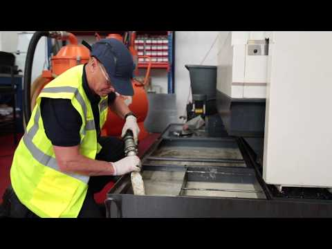 Industrial Machine Cleaning & CNC Machine Cleaning - Pennine Lubricants PROCARE Fluid Management