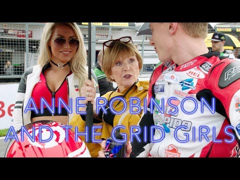 Anne Robinson meets super bike's grid girls - The Trouble With Women with Anne Robinson  - BBC
