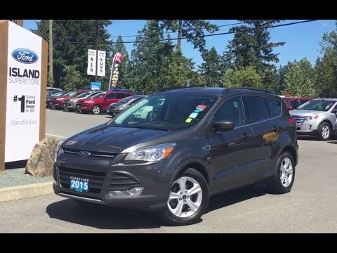 2015 ford escape se leather power driver 39 s seat tonneau cover review island ford youtube. Black Bedroom Furniture Sets. Home Design Ideas