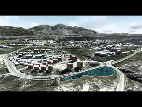 FLIGHT SIMULATOR X WELCOME TO GREENLAND NUUK AIRPORT