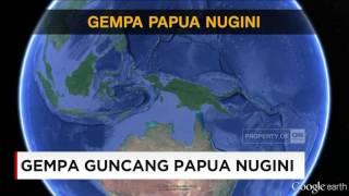 Gempa Dahsyat Guncang Papua Nugini ; 7,9 SR