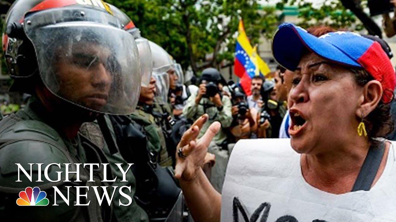 venezuela-in-turmoil-violent-protests-continue-nbc-nightly-news