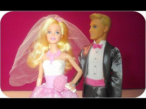 Barbie Bride Doll & Barbie Groom Doll -Barbie Gelin ve Damat bebek
