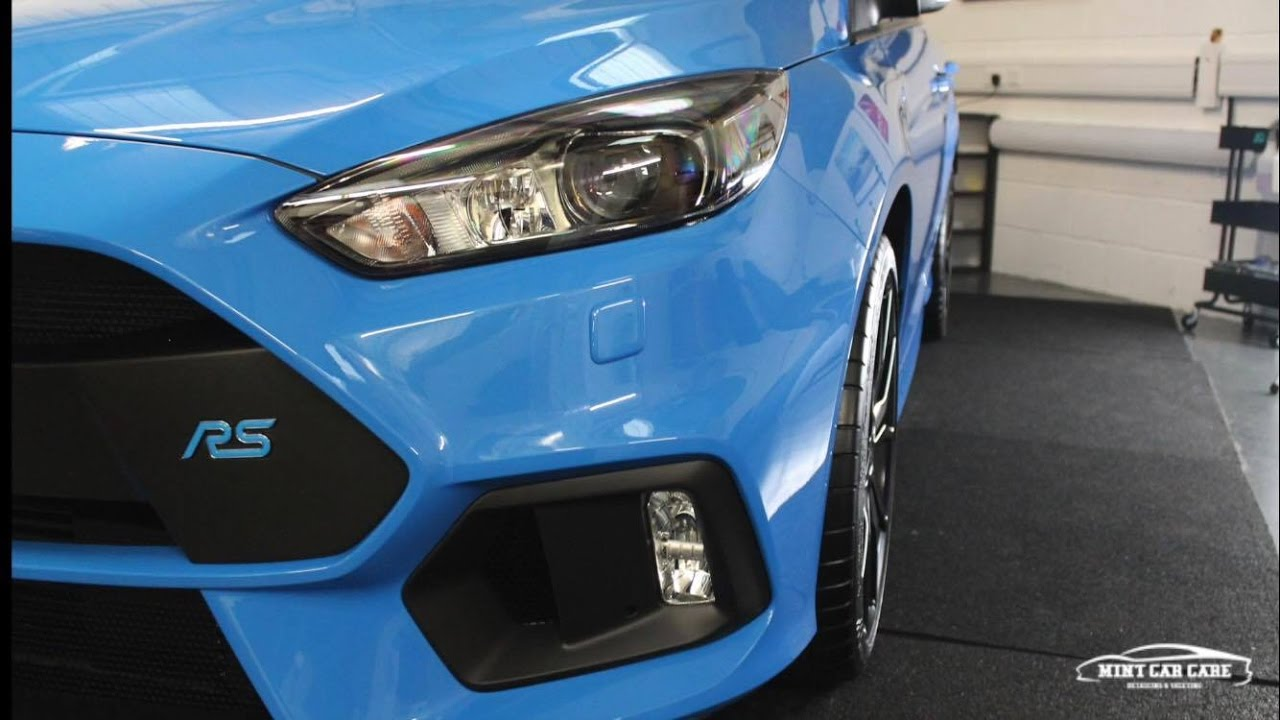 2016 ford focus rs new car preparation detail youtube. Black Bedroom Furniture Sets. Home Design Ideas