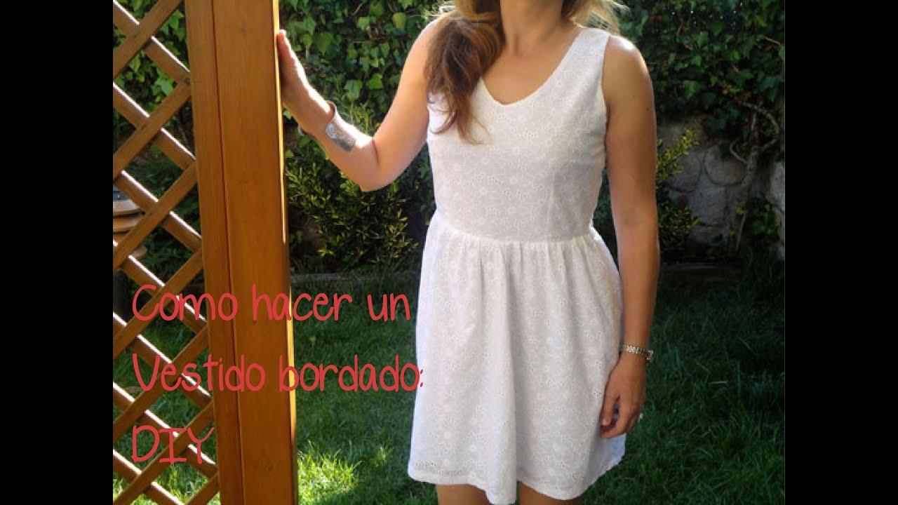 53e15b5541 Como hacer un vestido  (Patrón o molde gratis). con patronesmujer ...