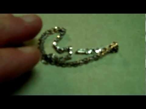 WaTcH white gold in your sterling Your refiner won't pay for gold in your silver