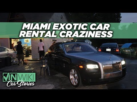 Will you move to Miami Beach to rent exotic cars?