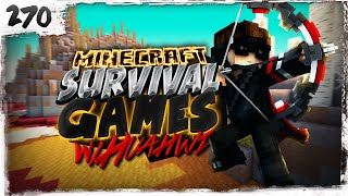 Minecraft Survival Games w/ Huahwi #270: BATTLE IN THE COBWEBS!