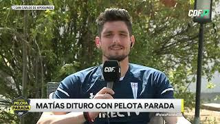 Exclusiva con Matías Dituro: