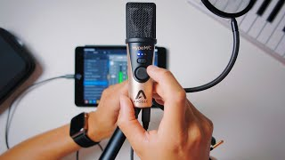 MY FAVORITE MIC for iOS Devices!!! - APOGEE HYPEMIC review