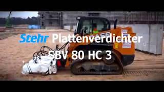 Stehr Plattenverdichter SBV 80 HC 3 | Neubau DFB Akademie Frankfurt am Main
