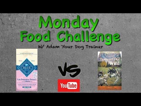 Blue Buffalo Puppy Vs Taste Of The Wild Puppy Mashup