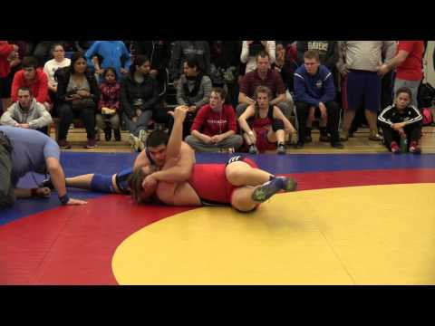 2014 Matmen Classic: 130 kg Elli Davin vs. Adam Caprarella