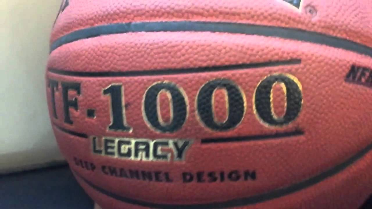 Spalding TF1000 Legacy Basketball - YouTube 07a53982798d