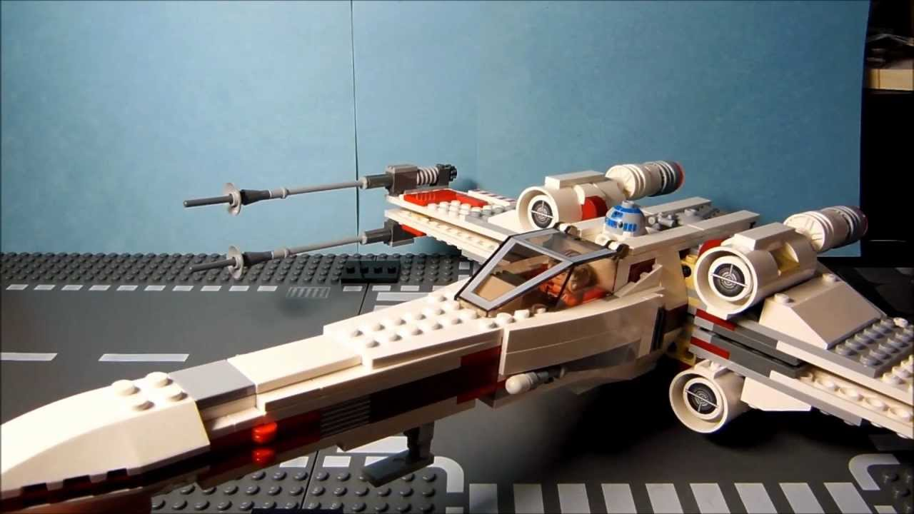 LEGO STAR WARS 9493 X,ウイング・ファイター™レッド中隊機 レビュー , YouTube