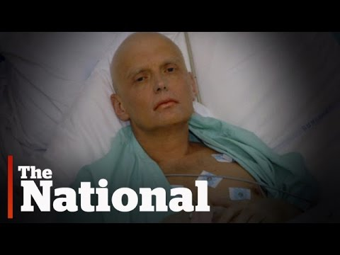 The poisioning of Russian dissident Alexander Litvinenko