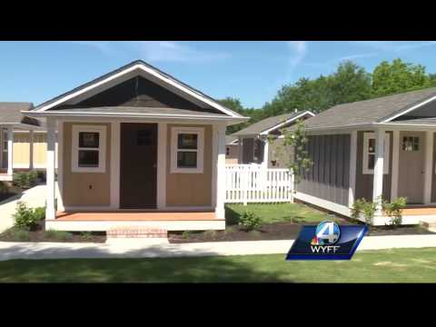 Tiny home community open in the Upstate
