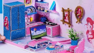 DIY Miniature Dollhouse  Ariel…