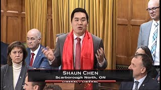 MP Shaun Chen - Statement on Canada-China Year of Tourism & Lunar New Year - Feb 15, 2018