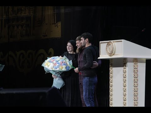 «Жди меня»,  Р. Кадыров, Алина и Расул Сулеймановы