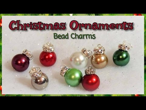 Christmas Ornaments Bead Charms