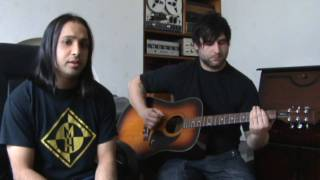 Show Me How To Live - Audioslave (acoustic guitar cover) by Mani and Daz