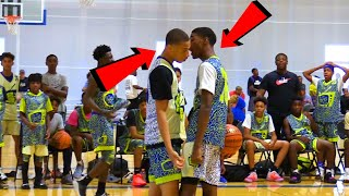 BATTLE GETS HEATED! Top 8th Graders Zion Cruz vs Sencire Harris!