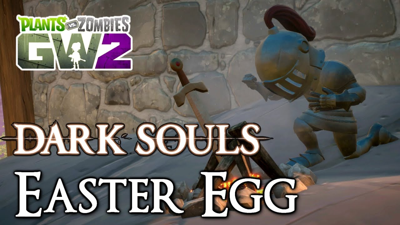 Dark Souls EASTER EGG on Seeds of Time! - Plants vs Zombies Garden Warfare  2 by StrangeLuv