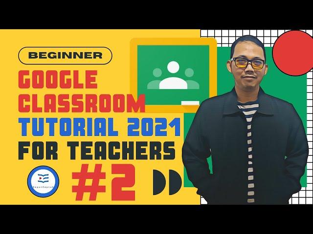 Tutorial Google Classroom Bagi Pemula | Cara Membuka Google Meet