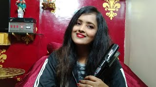 Professional Hair Straightener Review amp Demo Flat Iron Demo V amp G Professional Hair Straightener