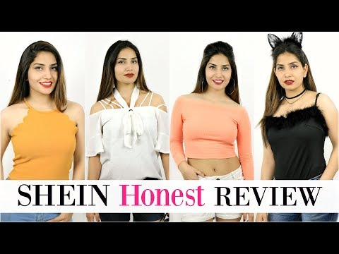 Online Shopping SHEIN.in - पैसा वसूल या FRAUD? - Most HONEST Review & Try On Haul | Anaysa