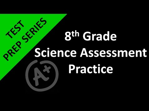 8th Grade Science Test Prep Day 3