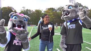 Passaic Tech enters Spike and Princess in the #NJmascotchallenge