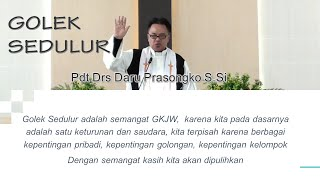 GOLEK SEDULUR PERJAMUAN KUDUS OIKUMENE GKJW JEMAAT PONOROGO 25-10-2020