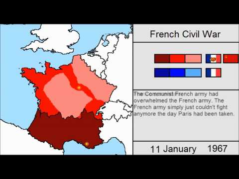 Alternate History - French Civil War