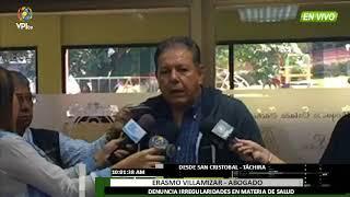 Venezuela - Erasmo Villamizar denuncia que hay medicinas vencidas en Hospital Central - VPItv
