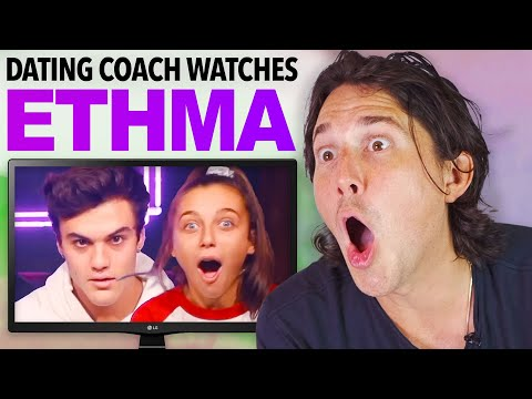 Dating Coach Reacts to EMMA CHAMBERLAIN and ETHAN DOLAN (caught)