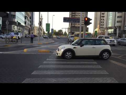 Strict Traffic Rules in Dubai | Crossing Roads in Dubai & Abu Dhabi | Zebra Crossing
