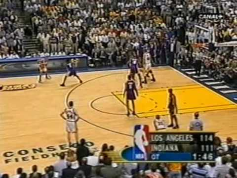2000 NBA Finals - Indiana Pacers vs. Los Angeles Lakers ...
