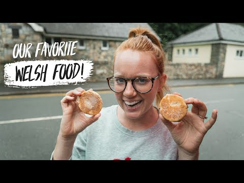 Welsh Food - Trying WELSH CAKES! + Exploring Betws-y-Coed 😍(Wales)