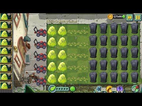 Plants Vs Zombies 2 Mision de Planta Premium Apisonaflor